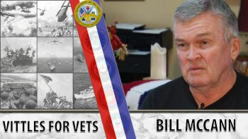 Bill McCann is doing his part to ensure no Vet goes hungry.