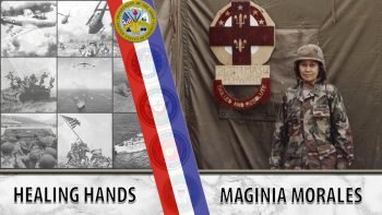 Maginia Morales left her family in the Philippines to come to America for a better life. As a nurse, she enlisted in the Army National Guard, then became an active Army nurse officer.