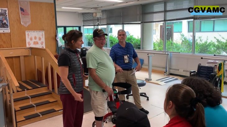 The Charles George VA Medical Center is employing a life-changing prosthetic device that helps Veterans regain the ability to walk.