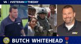 """Army Veteran Stephen """"Butch"""" Whitehead is today's Veteran of the Day."""