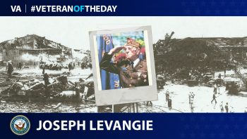 Joseph Levangie is today's Veteran of the Day.