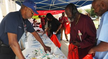 Serving Veterans at Stand Down