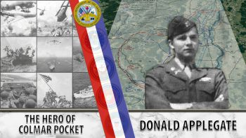 Donald Applegate was the hero of Colmar Pocket.