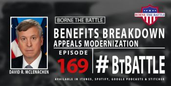 Appeals Modernization is the topic of this week's Borne The Battle.