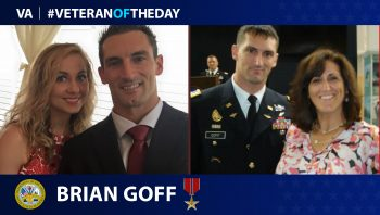 Army Veteran Brian Goff is today's Veteran of the Day.
