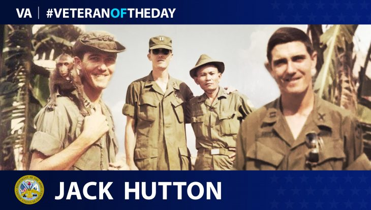 Army Veteran Jack Hutton is today's Veteran of the Day.