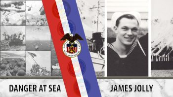 James Jolly was a WWII Veteran of the Merchant Marines.