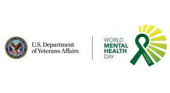 VA/World Mental Health Day logo
