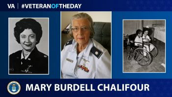 Air Force Veteran Mary Lee Burdell Chalifour is today's #VeteranOfTheDay.