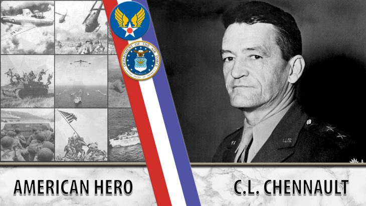Chennault founded the Flying Tigers.