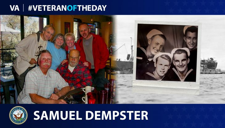 Navy Veteran Samuel Russell Dempster is today's Veteran of the Day.