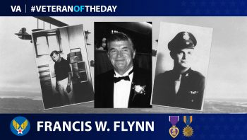 Army Air Force Veteran Francis W. Flynn is today's Veteran of the Day.
