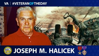 Army Veteran Joseph M. Halicek is today's Veteran of the Day.