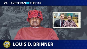 Army Veteran Louis D. Brinner is today's Veteran of the Day.