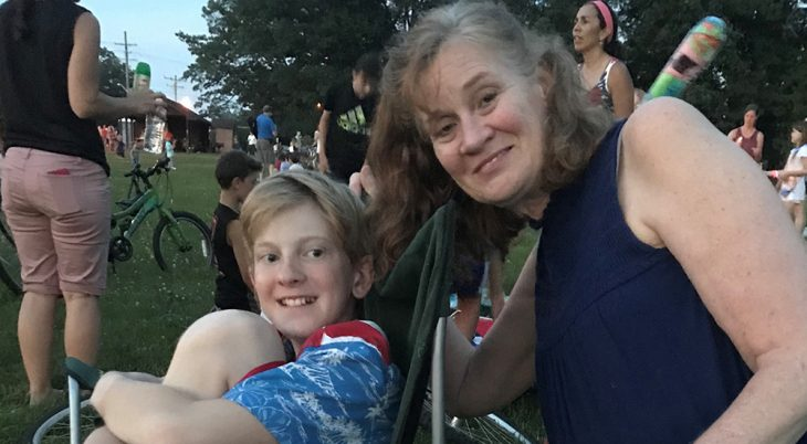 Mary Julius, pictured above with her son, is Program Quality Manager, Diabetes Self- Management Education and Support at the Northeast Ohio VA Health Care System