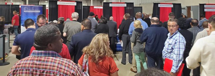 Red, White and You Texas job fair