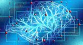 Graphic drawing of artificial intelligence, which is used to diagnose cancer
