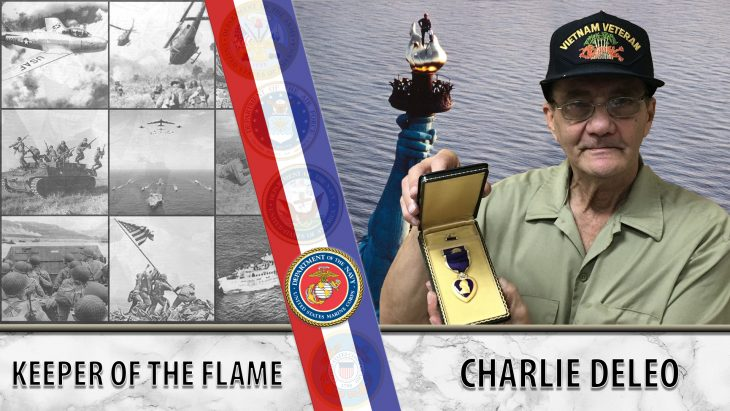 Charlie DeLeo is the Statue of Liberty's keeper of the flame.