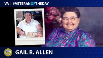 Army Veteran Gail R. Allen is today's Veteran of the Day.