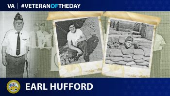 Army Veteran Earl R. Hufford is today's Veteran of the Day.