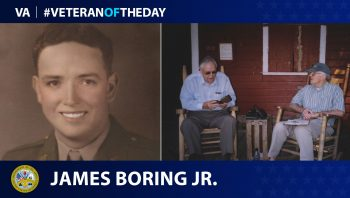 Army Veteran James M. Boring Jr. is today's Veteran of the Day.