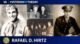 Army Veteran Rafael D. Hirtz is today's Veteran of the Day.