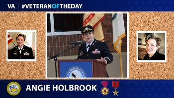 Army Veteran Angie Holbrook is today's Veteran of the Day.