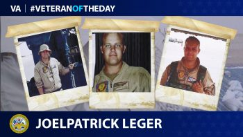 Army Veteran Joelpatrick Victor Leger is today's Veteran of the Day.