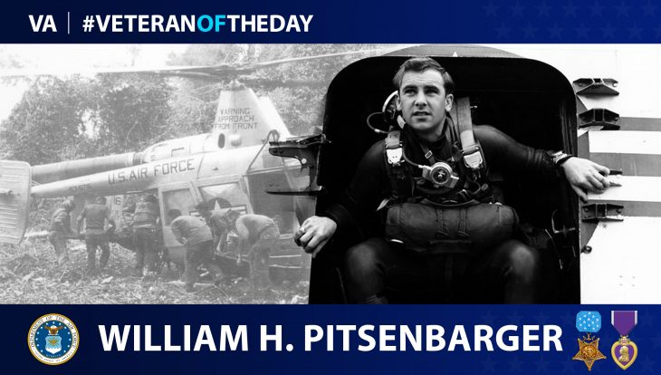 Air Force Veteran William H. Pitsenbarger is today's Veteran of the Day.
