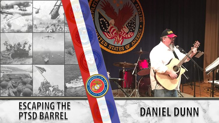 Daniel Dunn used art and music therapy to enjoy life again.