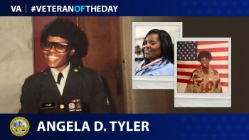 Army Veteran Angela D. Tyler is today's Veteran of the Day.