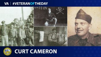 Army Veteran Curtis R. Cameron is today's Veteran of the Day.