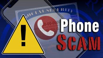 social security phone scam alert graphic