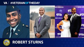 Army Veteran Robert Sturns is today's Veteran of the Day.