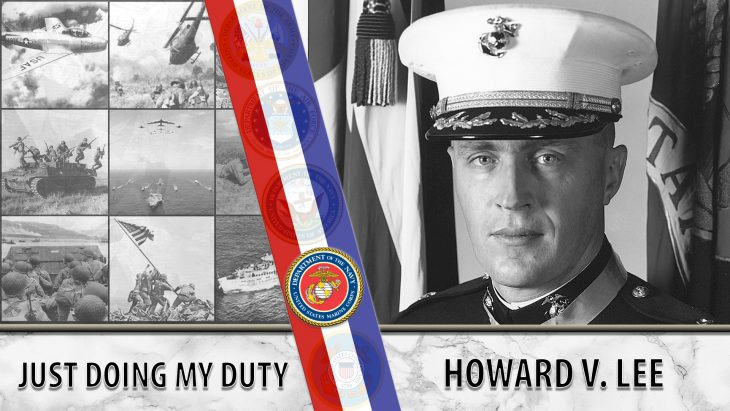 Maj. Howard V. Lee held the line near Cam Lo for six hours while waiting for reinforcements and earned the Medal of Honor for his actions.