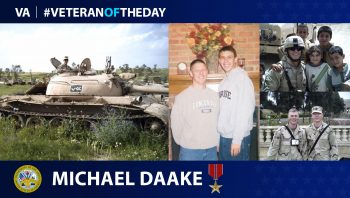Army Veteran Michael Brian Daake is today's Veteran of the Day.