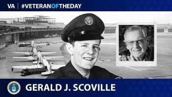 Air Force Veteran Gerald J. Scoville is today's Veteran of the Day.