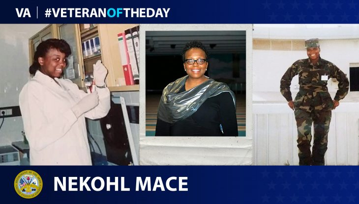 Army Veteran Nekohl Mace is today's Veteran of the Day.