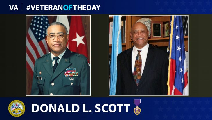 """Army Veteran Donald """"Don"""" L. Scott is today's Veteran of the Day."""