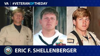 Marine Corps and Navy Veteran Eric F. Shellenberger is today's Veteran of the Day.