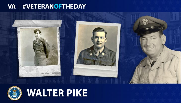 Army and Air Force Veteran Walter A. Pike is today's Veteran of the Day.