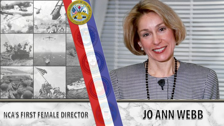 Jo Ann Webb was the first woman director at NCA.