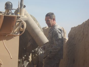 Army Veteran Chris Riga served in Iraq and Afghanistan from 2001 to 2014.
