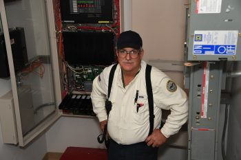 A Pentagon facilities worker