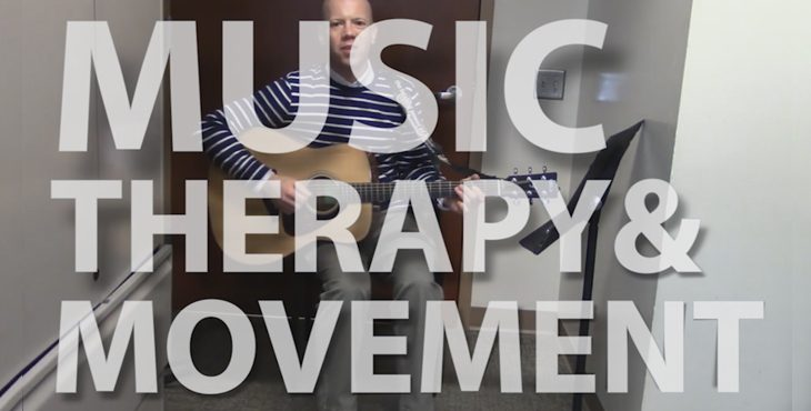 Music therapy and movement #LiveWholeHealth blog.