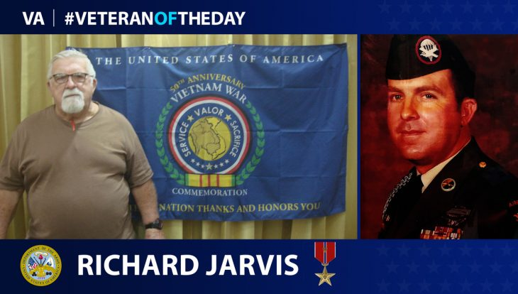 Army Veteran Richard A. Jarvis is today's Veteran of the Day.