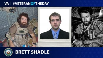 Navy Veteran Brett D. Shadle is today's Veteran of the Day.