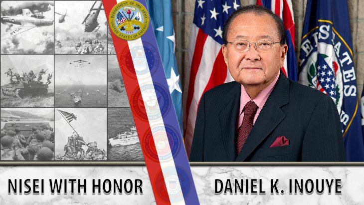 Daniel Inouye served in WWII, then in the House of Representatives and in the U.S. Senate.