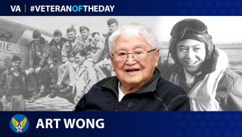 Army Air Forces Veteran Art Wong is today's Veteran of the Day.