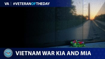 Vietnam War KIA and MIA are today's Veteran of the Day.